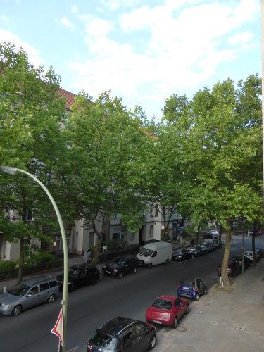 Blick auf die Beckerstraße
