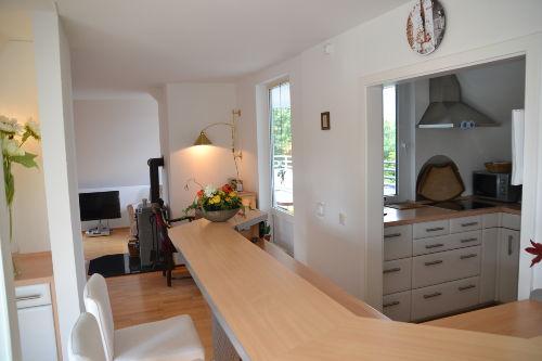 Eleganter Küchentresen