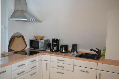Viel Ausstattung in der Küche