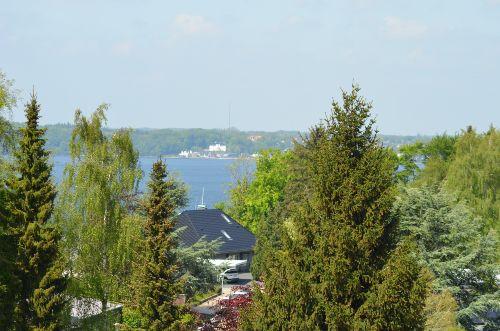 Blick ins Grüne bis zur FlensburgerFörde