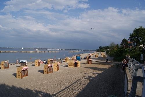 Der Strand von Schilksee