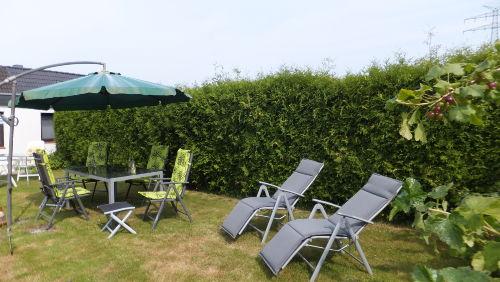Gartenbereich für unsere Gäste