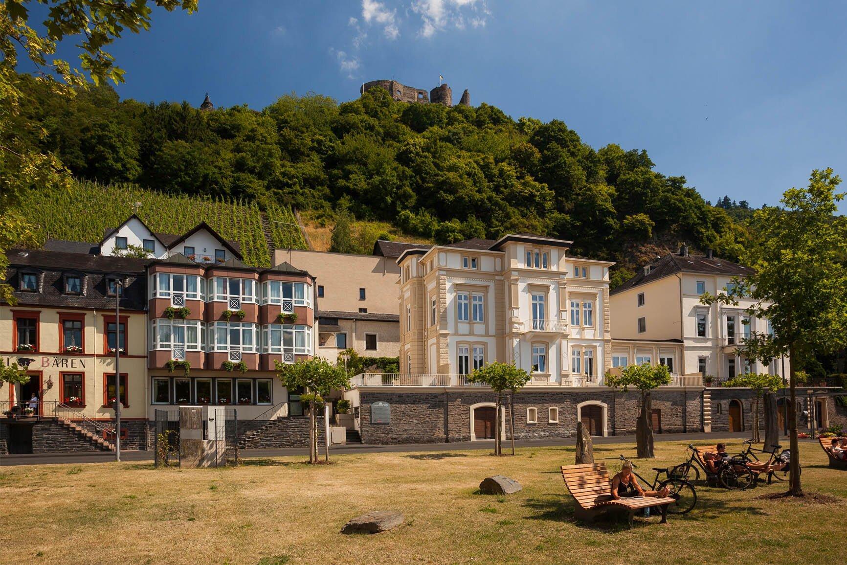 Villa Mosella mit Stadtpark