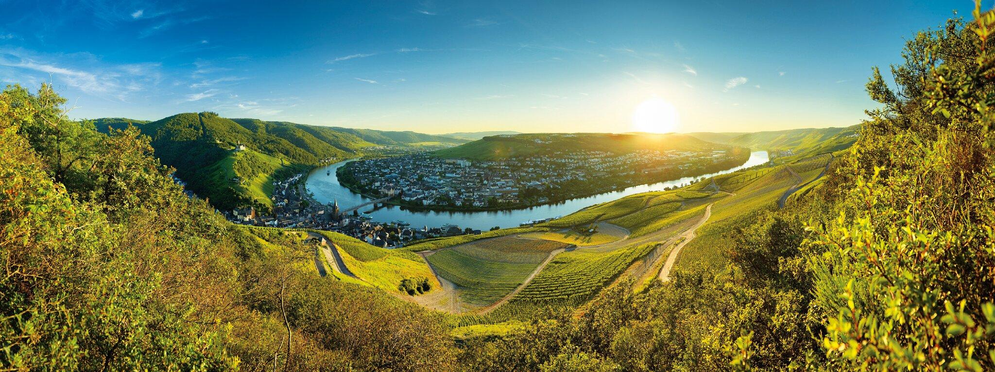 Panoramalandschaft Bernkastel-Kues