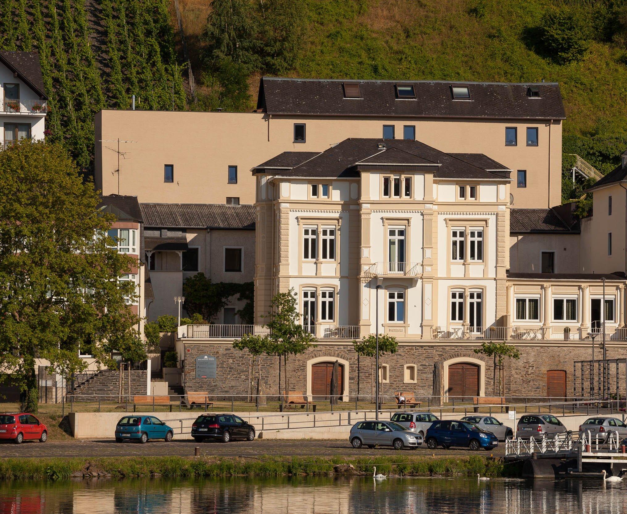 Au�enansicht Villa Mosella