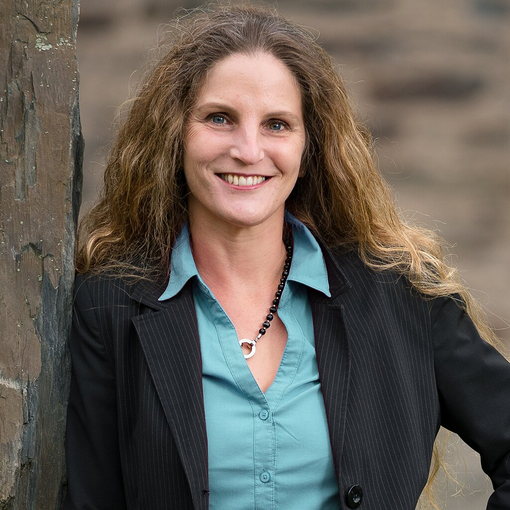 Ihre Gastgeberin Karin Hoffmann