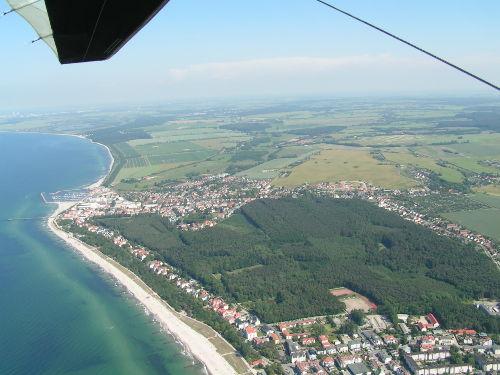 Ostseebad K�hlungsborn mit Yachthafen