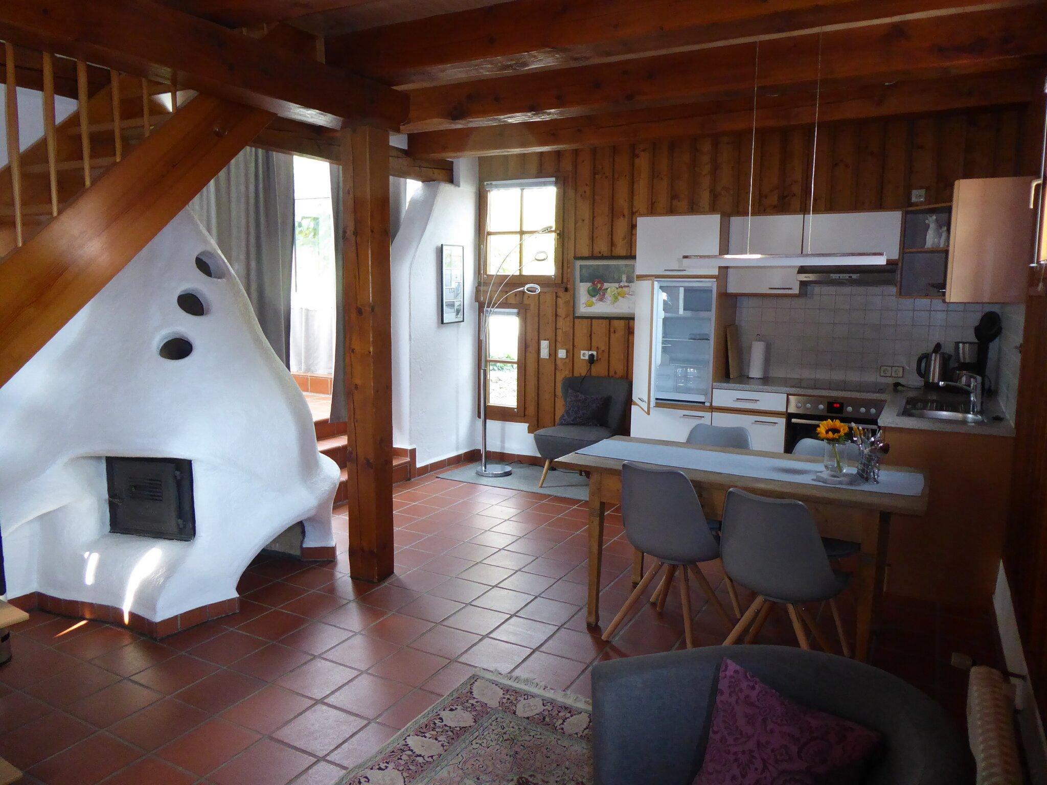 Koch- und Essbereich