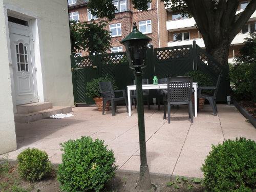 Terrasse mit Eingang
