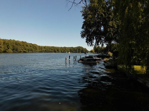 Blick zum Krossinsee