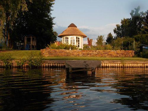 Abendstimmung am Ufer