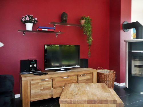TV, Stereoanlage und DVD - Player