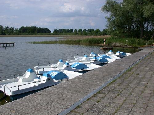 Bootsverleih am Inselsee