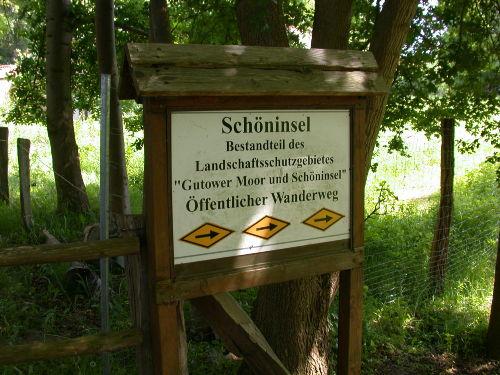 Wanderweg Schöninsel