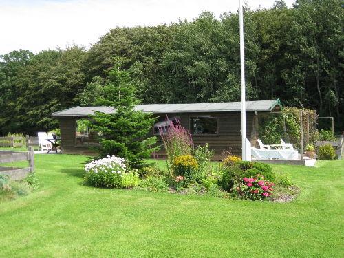 Gartenhaus mit Terrassen