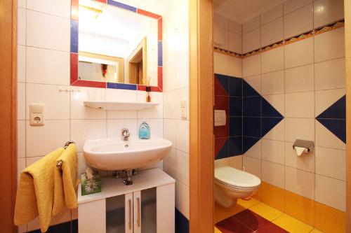 separates WC zum Einzelbettzimmer