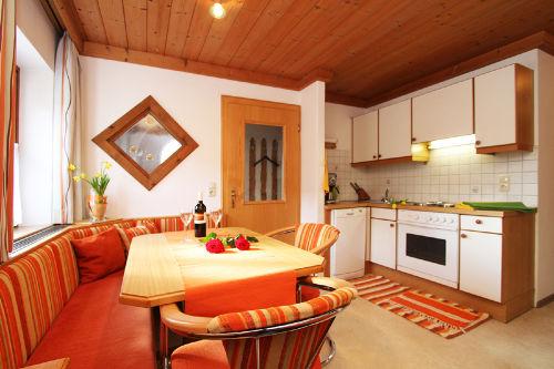 Küche und Esszimmer Fewo Barbara