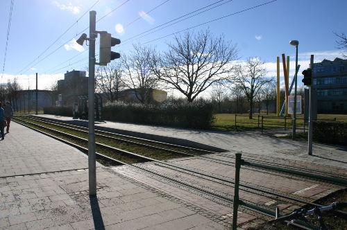 Haltestelle Linie 3 Entfernung 300 m