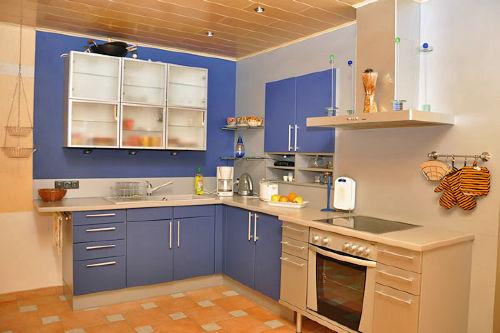 Ferienwohnung Lyhsi, Küchenbereich