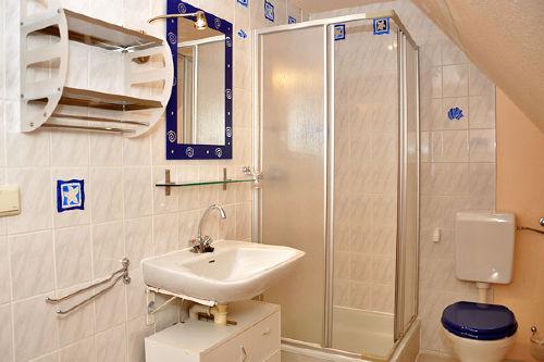 Ferienwohnung Lyhsi, Dusche/WC