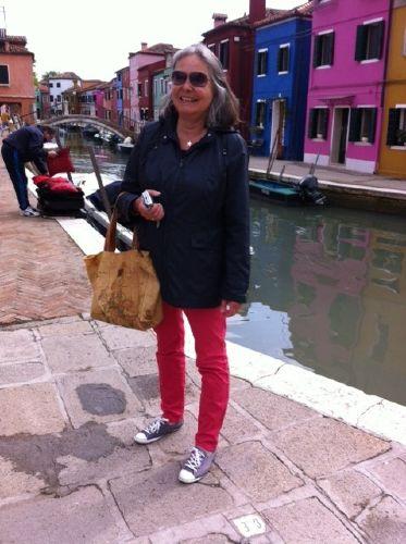 Auf der Insel Burano