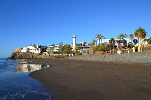 Der Bucht von Playa del Aguila