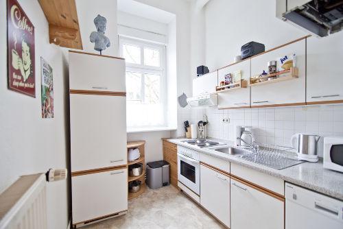 Die vollausgestattete Küche
