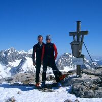 Vermieter: Skitour auf das Hohe Brett