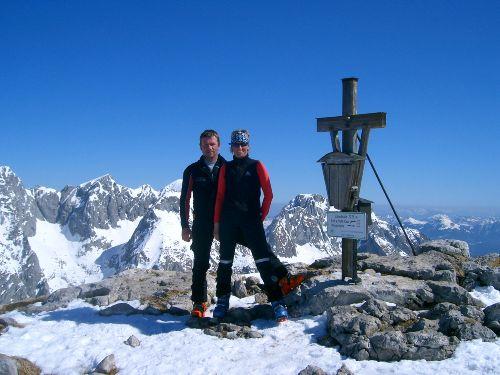 Skitour auf das Hohe Brett