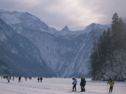 Königssee zugefroren