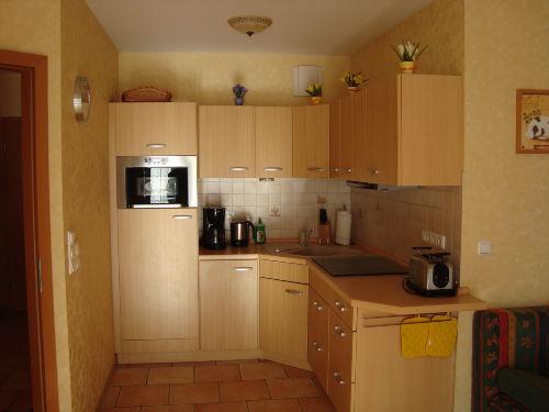 Einbauküche 2 Raum Fewo D7