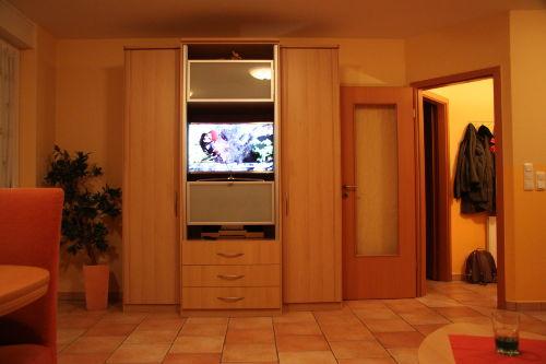 Flachbild TV im Wohnzimmer