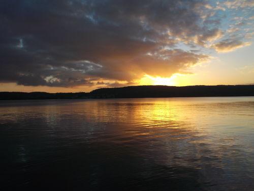 Traumhafter Blick auf den Bodensee...