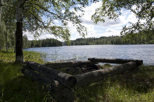 Der Weg zum See