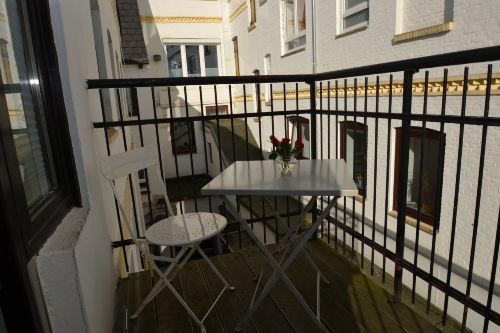 Balkon zum Hof