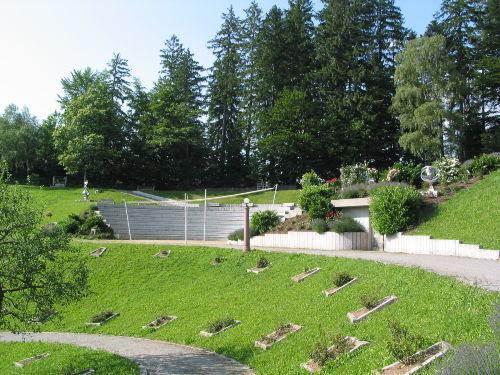 Amphitheater in der Parkanlage