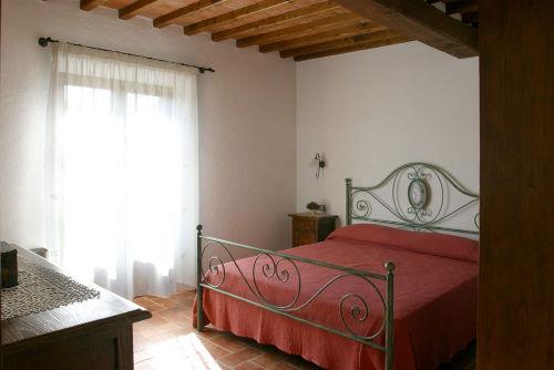 Schlafzimmer im Apartment Sambuco