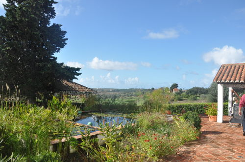 Garten,Blick in die Umgebung