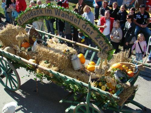 Erntedankfest in Mundelfingen