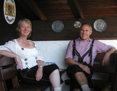 Brigitte und Alfons Schwaninger