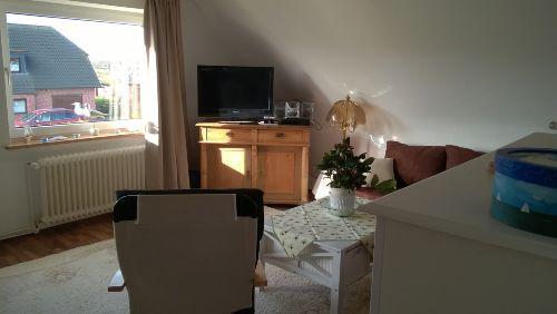 Wohnstube mit Fernseher