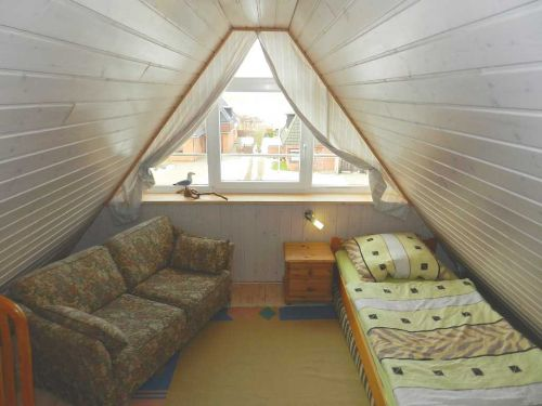 Einzel- Zimmer, Blick nach Westen