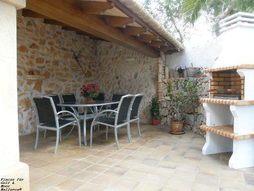 Terrasse mit Barbecue/Grill
