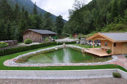 App. Schiederbauer - Lofer - unser Teich