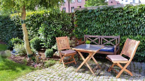 Gartenterrasse f�r G�ste