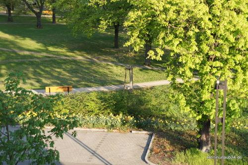 Medaillonplatz - Parkblick
