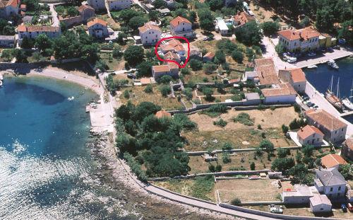 Panorama Villa Lavanda mit Strand