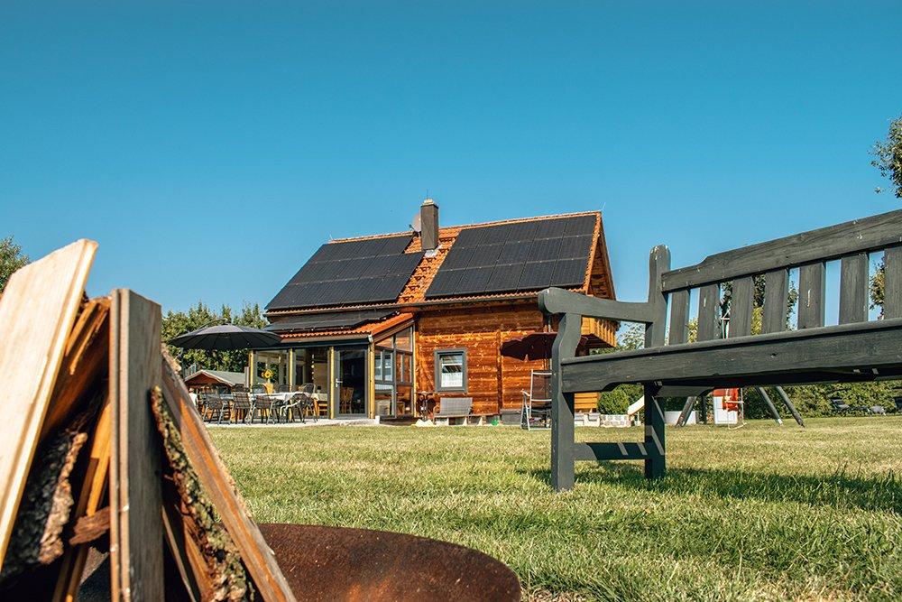 Ferienhaus mit 3 eigenen Parkpl�tzen