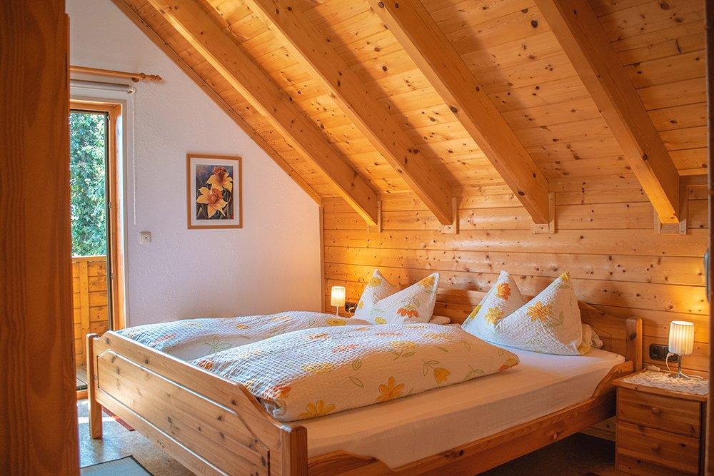Doppelschlafzimmer mit Blkon