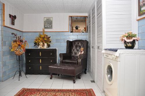 Waschmaschine im Keller